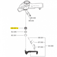 Схема установки сальника рычага ED 237 U LT