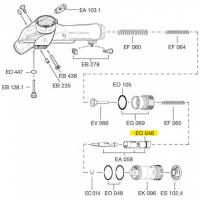 Схема установки кольца EO 046