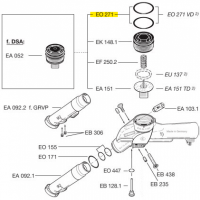 Схема установки кольца EO 271