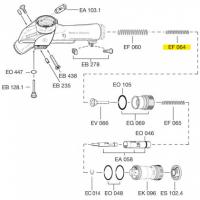 Схема установки пружины EF 064