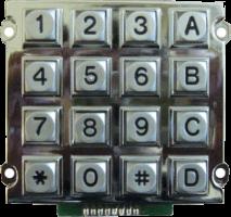 Клавиатура антивандальная